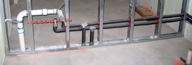 Stud Guards For Metal Studs Basement Wall Studs
