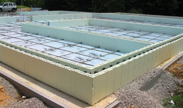 Foam concrete forms for pools home design for Foam basement forms